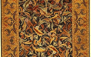 Fine Silk Hereke 'Cinar' Carpet (Signed)
