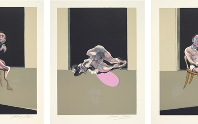 Francis Bacon, Triptyque Août 1972 (after, Triptych August 1972)