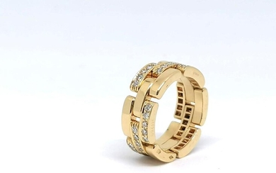 Gold and diamond Ring Signed Cartier
