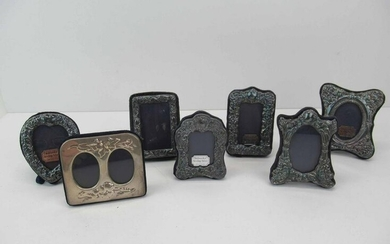 Group of Assorted Sterling Silver Picture Frames