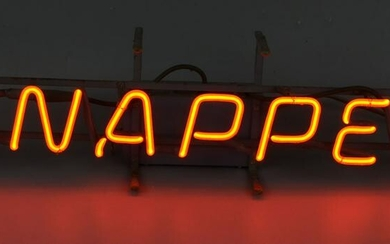 Hard To Find Vintage Snapper Lawn Mower Neon Light