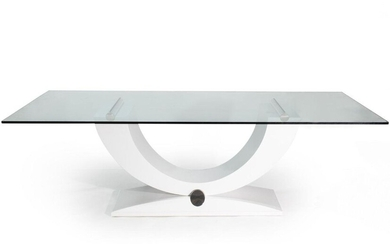 MODERNIST STYLE DINING TABLE