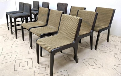 OFS BRANDS Chairs. 6 Dining chairs and 5 tall bar chair