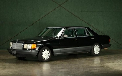 One Owner 1991 Mercedes Benz 560SEL