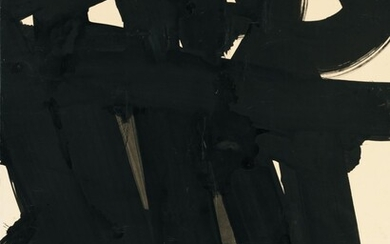 Pierre Soulages, Untitled