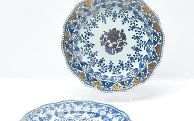 Plates China 18th century Tallrikar Kina 1700-tal