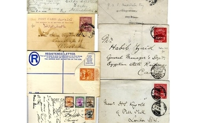 Postal stationery c1890-1950 U & unused incl. registered env...