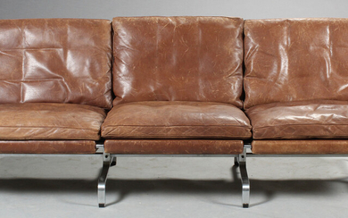 Poul Kjærholm. Three-seater sofa, Model PK31/3-E, Kold Christensen