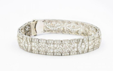 Rare Tiffany & Co Art Deco Platinum and Diamond