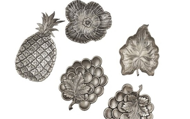 SILVER LEAVES AND FRUITS, GIANMARIA BUCCELLATI