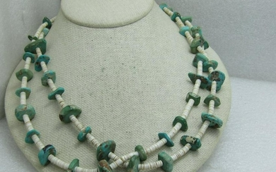 Vintage Southwestern/Native American Turquoise Nugget &