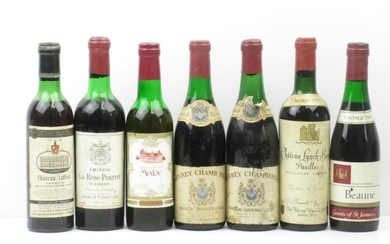 1 half bottle of Chateau Lynch Bages 1959 Pauillac...