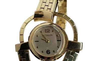 14K Yellow Gold 6inch LeCoultre Watch