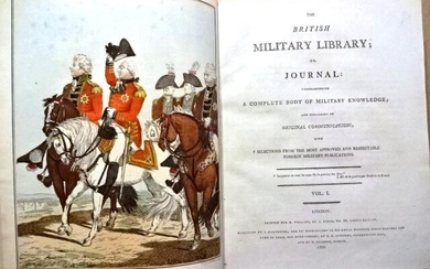 1799 The British Military Library Fine Engravings