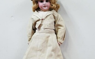 1894 Armand Marseille Bisque Socket Head Doll