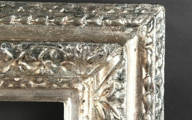 18th Century English School. A Carved Wood Silvered