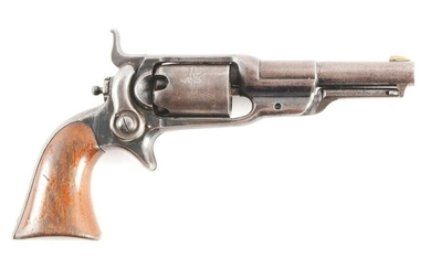 """(A) COLT 1855 SIDEHAMMER """"ROOT"""" PERCUSSION REVOLVER."""