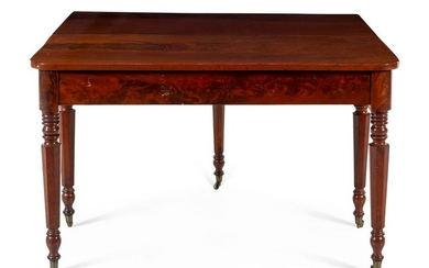 A Federal Style Mahogany Dining Table