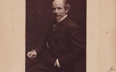 Alfonso Rendano Composer - Autograph; Signed Photo with Dedication: Good Job to Photographer - 1899