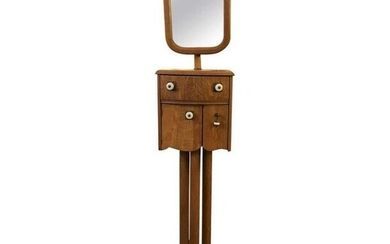 Americana Shaving Stand With Telescoping Mirror Early-2