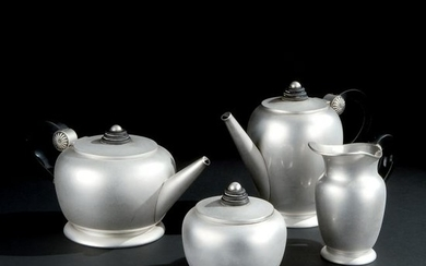 An Italian silver tea and coffee service, '30s
