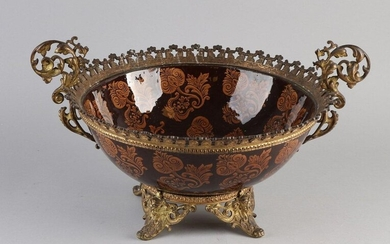 Antique French bowl