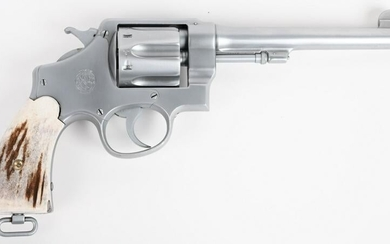 BRITISH PROOF S&W .455 HAND EJECTOR REVOLVER