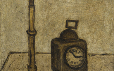 Bernard Buffet (1928-1999), Nature morte au réveil