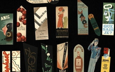 [Bookmarkers]. Lot of ±130 bookmarkers, mostly ±1920-1940, mostly...