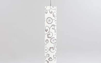 CEILING LAMP, black and white screen, modern.
