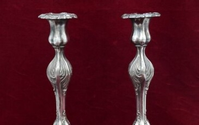 Candlestick - .925 silver - Israel - Second half 20th century