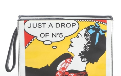 Chanel limited edition, Just a Drop of N°5 clutch