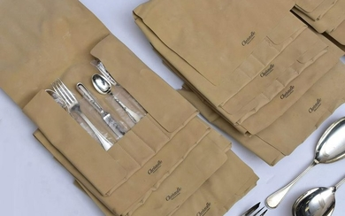 Christofle Silver Plated Flatware Set