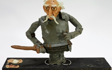 Claymation Animation Don Quixote Knight Model