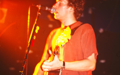 Coldplay: a small collection of unpublished photographs of Chris Martin at The Point, Oxford,
