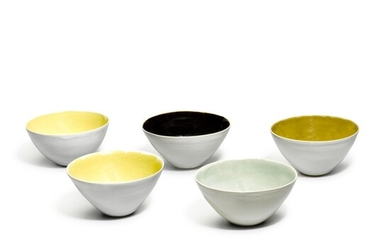 DAME LUCIE RIE | FIVE BOWLS