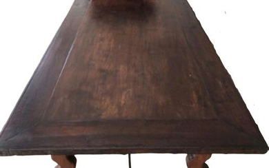 Dining table - Oak, Stained wood - Second half 19th century