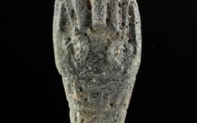 Egyptian Late Dynastic Faience Ushabti