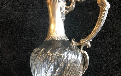 Ewer - .950 silver - France - Late 19th century