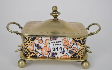 Fine English Regency Style Hand Painted Porcelain
