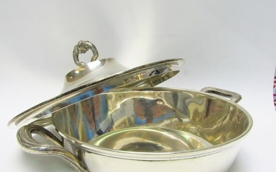 Food container - .915 silver - Spain - First half 20th century
