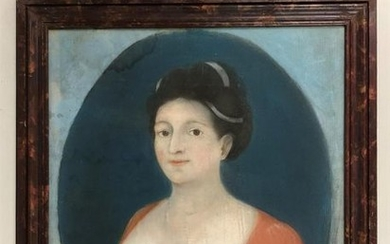 French school in the early 19th century. Woman...