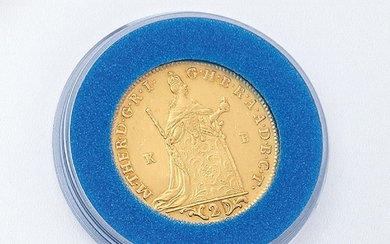 Gold coin, double ducat, Hungary, 1765 ,...