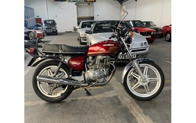 HONDA CB 400T MOTORBIKE, 1978, 37k miles, Red Tank and only ...