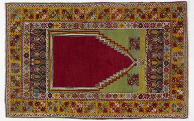KONIA Hand-knotted and hand-worked carpet, origin