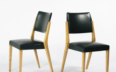 Karl Schwanzer, Two stacking chairs 'S-764P', 1953