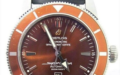 Mens BREITLING SUPEROCEAN Automatic Chronometer Watch
