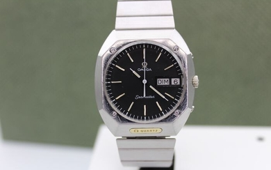 "Omega - Rare Marine 1 Mega quartz - ""NO RESERVE PRICE"" - 1960054-sp - Men - 1980-1989"