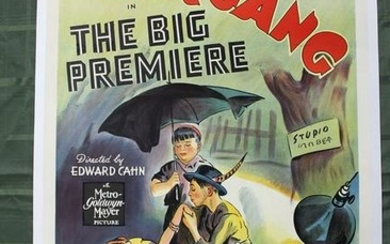 Our Gang in The Big Premiere (1940) US One Sheet Movie