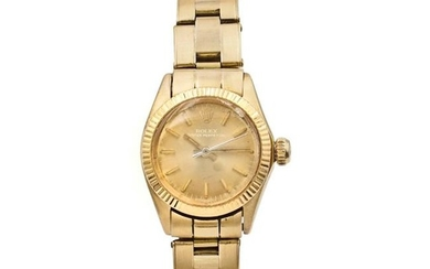 Rolex Oyster Perpetual, ladies watch 1977 weight 59 gr.